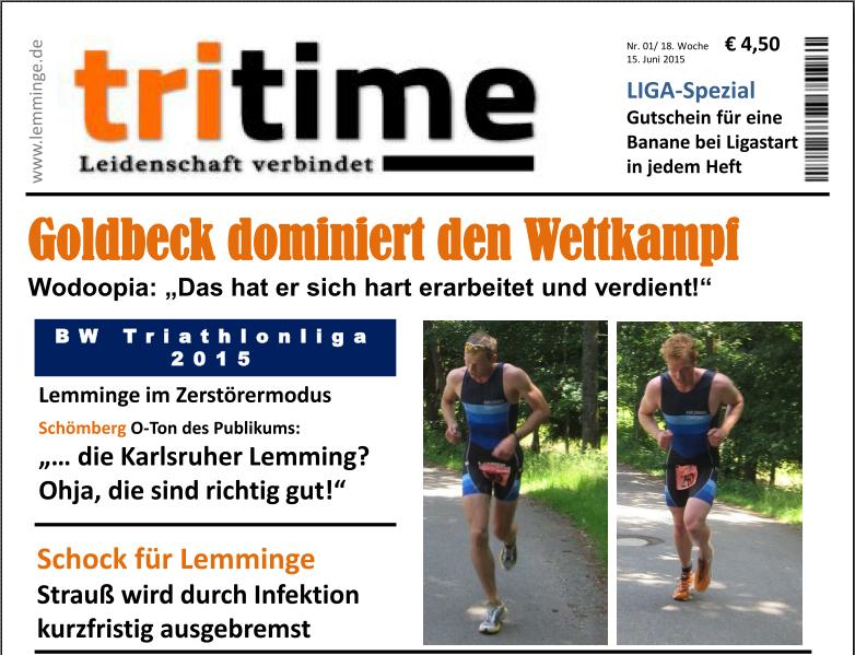 TriTime 2015 Schömberg - Vorschau