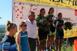 Turmbergrennen 2017 Siegerehrung Frauen